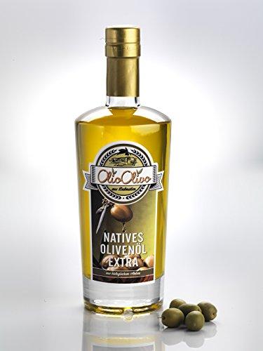 Frische Ernte 2016/2017 - 0,5 Liter Kroatisches Natives Olivenöl extra aus biologischem Anbau von Terra Rosso Böden aus Dalmatien