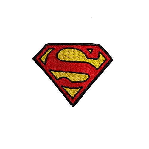 Emporium Stickerei Superhelden zum Aufbügeln, Bestickt, für Partys, Kostüme, Jeans, Aufnäher, Cartoon-Jacke, Badge Bag, Multi, S