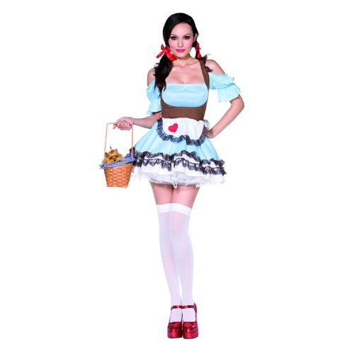 Smiffys,FEVER MISS RAINBOW KOSTäM (Miss Rainbow Kostüm)