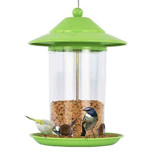 Vogelnest-Hängende Vogelzufuhr, Hängende Laterne-Wilde Vogel-Standplatz-Samen-Fütterungsstation Für Den Garten Im Freien -