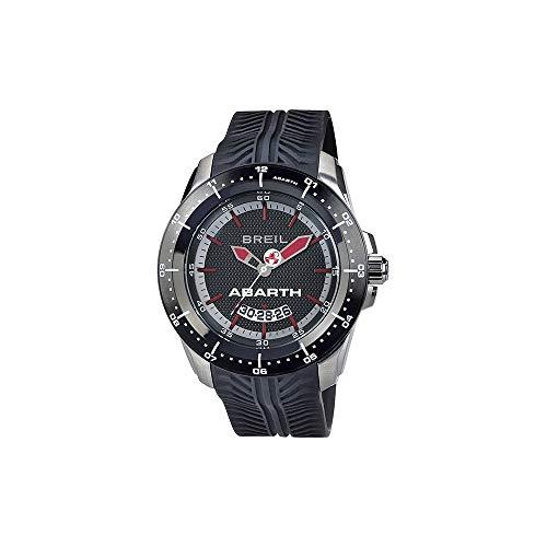 d4ad46e45424 Breil Reloj Analogico para Hombre de Cuarzo con Correa en Silicona TW1486