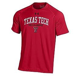 Under Armour Ncaa Men's Tech Tee, Texas Tech, Xx-large