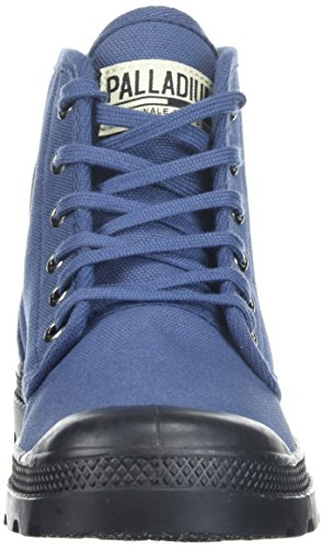 Palladium Pampa Hi Originale, Hohe Sneakers Mixte Adulte Bleu (Indigo/black)