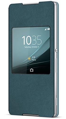 Sony SCR30 - Funda para móvil Sony Xperia Z3+, azul