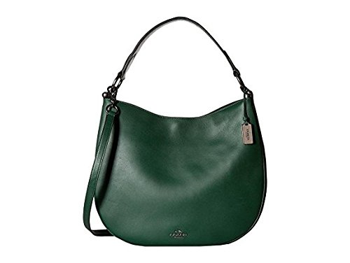 Coach Hobo Bag Glovetan, Smooth Calf Leather Forest (Coach Hobo)