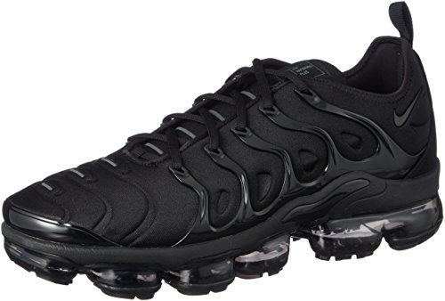 newest f65a8 7c8ea Nike Unisex Adults  Air Vapormax Plus Gymnastics Shoes, Black Dark Grey 004,