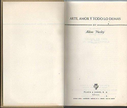 Arte, Amor Y Todo Lo Demás descarga pdf epub mobi fb2