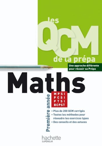 Maths MPSI/PCSI/PTSI