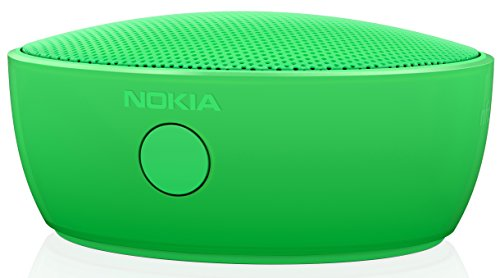 Nokia MD-12 Wiederaufladbarer Bluetooth und NFC Wireless Tragbarer Mini Lautsprecher mit Integriertem Mikrofon Kompatibel mit Lumia 820/920/925/930/1020/1520 - Grün Original Nokia Box