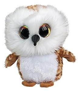 Lumo Stars Owl Uggla Animales de Juguete Felpa Marrón, Blanco - Juguetes de Peluche (Animales de Juguete, Marrón, Blanco, Felpa, 3 año(s), Búho, Niño/niña)