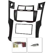 Doble DIN de radio (Juego) para Toyota Yaris XP92007hasta 2011, color negro