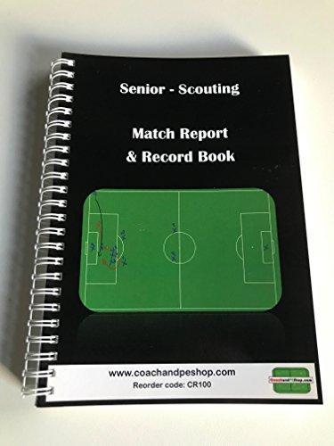 Senior Pfadfinder Match Bericht & Record Notebook
