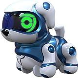 Splash Toys 30650P - TEKSTA Babies PUPPY Spielset mit Roboter Hund und Bauteilen für Spielbahn und Laufrad, elektronisches Haustier, interaktiver Welpe, ab 3 Jahre