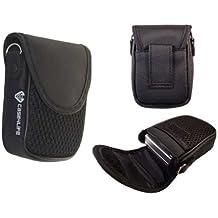 Case4Life compacta cámara digital bolsa caso suave para Sony Cyber-shot DSC-J, DSC-T, DSC-TX, DSC-WX, DSC-W, Serie Inc DSCW800, WX220, WX350 - Garantía de por vida