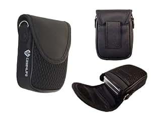 Case4Life Compact digital camera soft case pouch for Sony Cyber-shot DSC-J, DSC-T, DSC-TX, DSC-WX, DSC-W, Series Inc DSCW800, WX220, WX350 - Lifetime Guarantee
