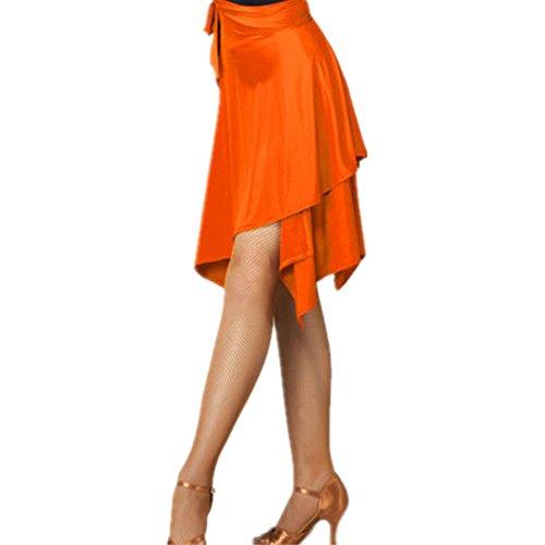YOUMU Frauen Ballsaal Latein Salsa Tango Dance Rock Kleid Skate Wrap Schal ()