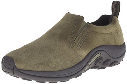 Merrell - Jungle Moc M, Slip-On Uomo, Verde (Dusty Olive), EU 44 (US 10)
