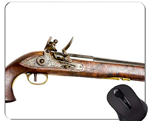 Mauspad Anti-Rutsch, Pistolen Munitionsturm Pistole Personalisierte Rechteck Gaming Mauspads