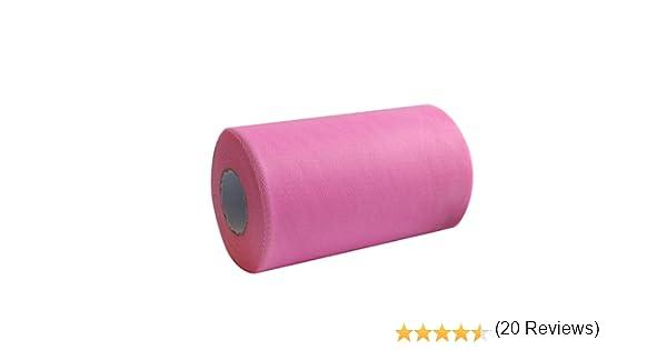 jupe de chaise haute ou jupe de table pour tutu 3/couleurs au choix Amajoy Rouleau//bobine de tissu tulle 15/cm/x 91/m