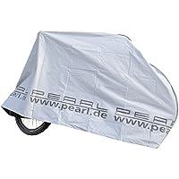 PEARL Fahrradgarage: Zweiradgarage für Fahrräder/E-Bikes/Motorroller, silber (Motorroller Garage)