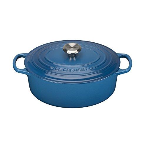 Le Creuset Cocotte, Azul Marsella, 25 cm