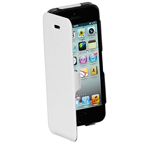 Vivanco Buch Klapp Tasche, book Cover, Case, Schutz Hülle extra dünn, ultra slim für Apple iPhone 5, 5s, SE