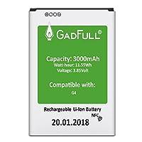 ✅  GadFull Smartphone batterie pour LG G4 / G4 Dual Sim / G4 Stylus / H815 / H818P / H635✅ Vous ne pouvez plus utiliser la batterie d'origine de votre Smartphone? Avez-vous besoin d'une batterie fiable pour remplacer en vacances ou pendant votre voya...