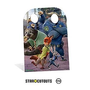 """Hora de aventuras SC938""""Zootopia"""" niño soporte en cartón Cut Out"""