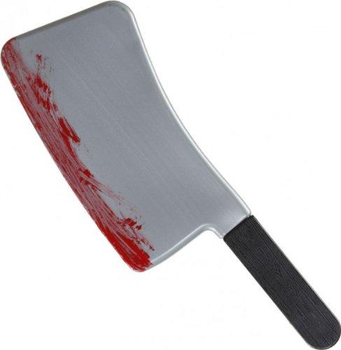 Orlob blutiges Beil zu Horror Mörder Kostüm an Halloween Karneval (Blutige Mörder Kostüm)