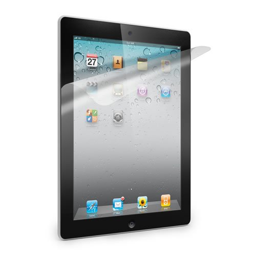 2 x iPad 2 Screen Protector Clear Film Protects Screen From Dust Scratches 16GB 32GB 64GB - 2nd Generation iPad - KING OF FLASH
