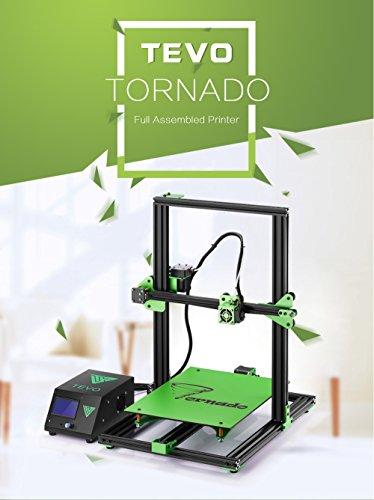 tevo® Tornado entièrement assemblé – Imprimante 3D – 300 * 300 * 400 mm grande druckbereich – Imprimante 3D – Kit d'impression 3D