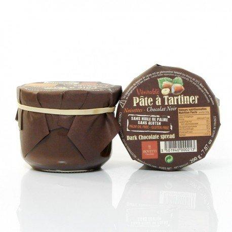 Pâte à tartiner véritable Chocolat Noir et Noisettes