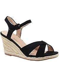 by Shoes - Sandale Compensée en Corde de Chanvre - Femme