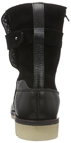 Marc O'Polo Bootie, Bottes mi-hauteur avec doublure chaude femme Noir - Noir (990)