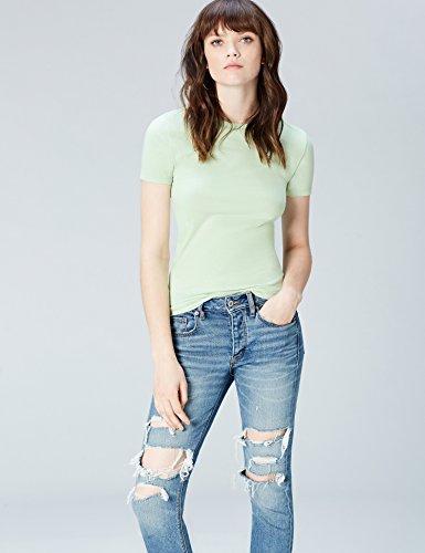 FIND T-Shirt Damen Grün (Pistachio)