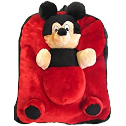 Tickles MICKEY BAG Soft Toy Plush Kids Birthday Gift 33 cm AT-B047