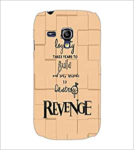 PrintDhaba Quote D-5935 Back Case Cover for SAMSUNG GALAXY S3 MINI (Multi-Coloured)