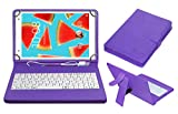 #6: ACM USB Keyboard Case for Lenovo Tab4 8 Plus Tablet Cover Stand with Free Micro USB OTG - Purple