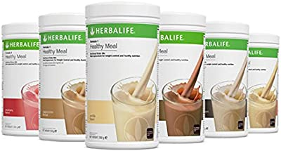 HERBALIFE FORMULA 1 STRAWBERRY NUTRITIONAL SHAKE MIX. HEALTHY MEAL FOR WEIGHTLOSS
