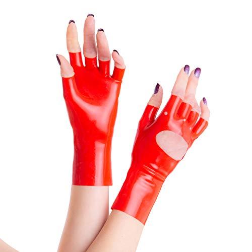 guanti latex Rubberfashion -  Guanti - Donna Rot Medium