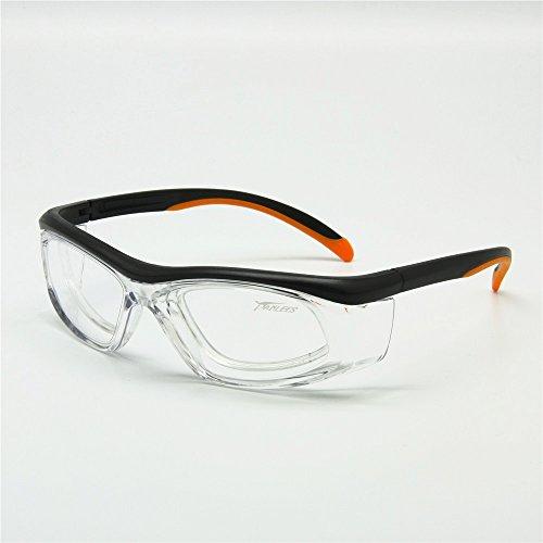 Sportbrille mit abnehmbaren Rx Insert Sicherheit Brille Anti-Staub-Anti-Statik-Labor medizinische Verwendung arbeiten Brillen