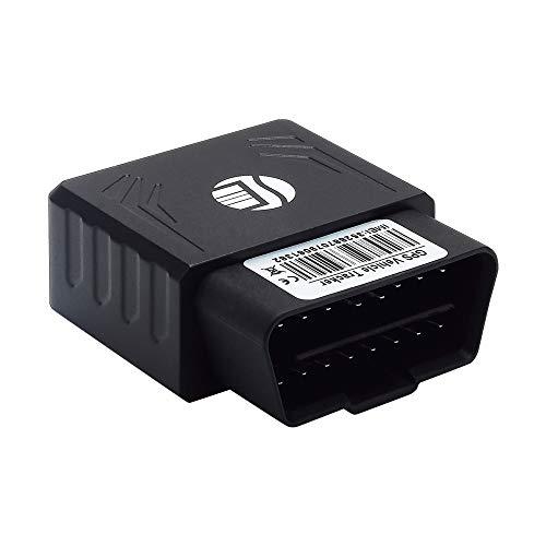 SG Echtzeit-Ortung, Auto Mini GPS Global Positioning Tracker Anti-Diebstahl-Funktion, geeignet für Fahrzeuge mit OBD-Schnittstelle