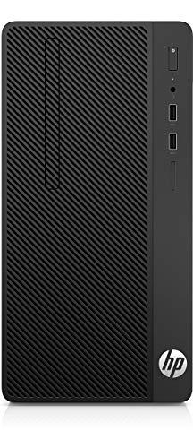 HP 285 G3 - Ordenador de sobremesa profesional (AMD Ryzen 5 2400G, 8 GB RAM, 500GB HDD, AMD Radeon RX Vega 11, Windows 10 Pro) negro