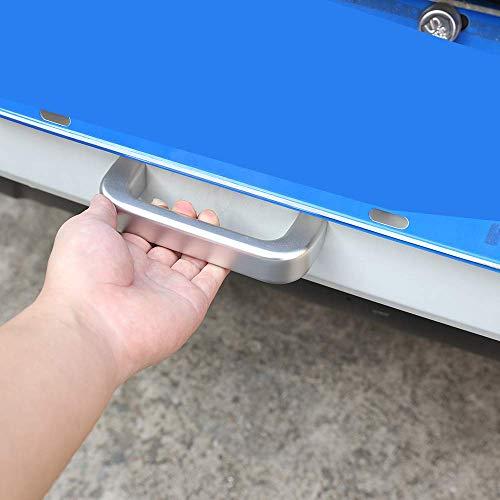 Accessoires de Garniture de poignée de grippage de Porte de Queue de pièces de Rechange de Voiture d'alliage d'aluminium pour NIVA
