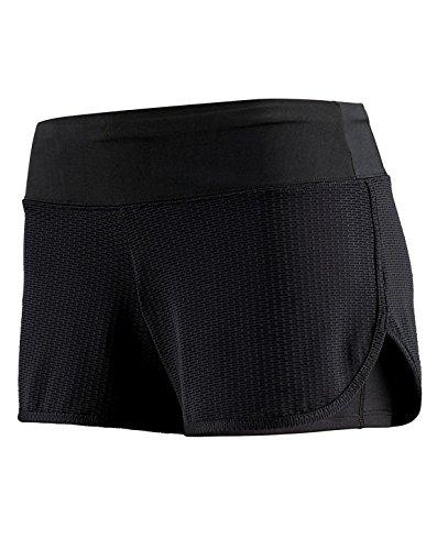 Augusta Sportwear - Short - Femme BLACK/GRAPHITE PLEXUS PRINT