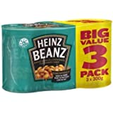 Heinz Tomate Baked Beans 300gm Pack 3