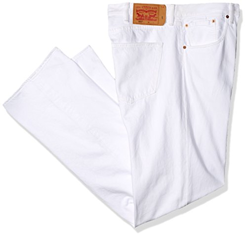 Levis Shrink To Fit-jeans (Levi's Men's Big & Tall 501 Original Shrink-to-Fit Jean, Optic White, 36W x 36L)