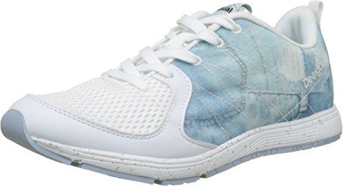 Desigual X-Lite 2.0 Y, Chaussures de Running Entrainement Femme Bleu (5006 Jeans)