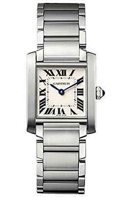 Cartier Tank Francaise Medium Model Watch WSTA0005