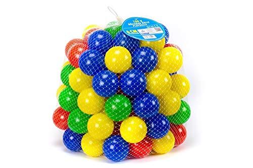 Trendario Bälle für Bällebad 60mm Bunte Spielbälle